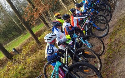MTB jeugd training in Zuidlaren